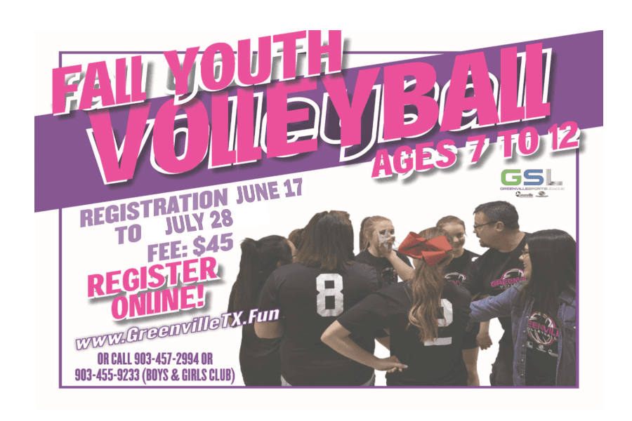 Fall Youth Vollyball Flyer-transparent