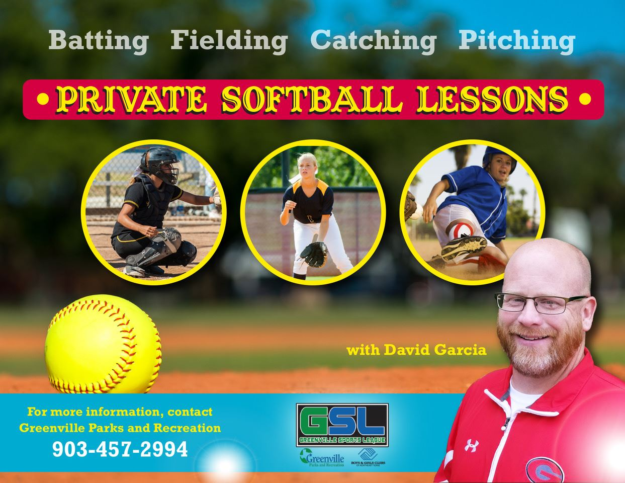 private softball lessons
