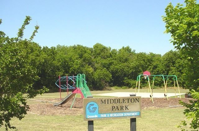 Middleton Park with swings and jungle gym