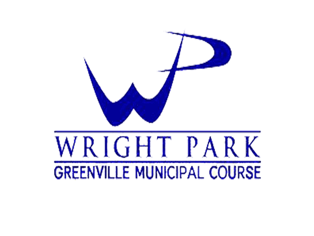 wright golf course white logo