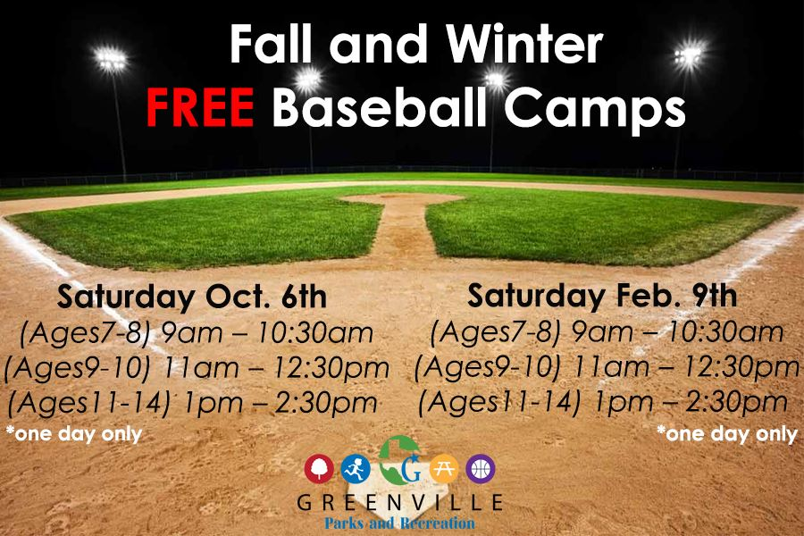 baseball Fall and Winter camps